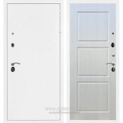 Входная металлическая дверь Армада 5А ФЛ-3 (Белая шагрень / Лиственница беж)