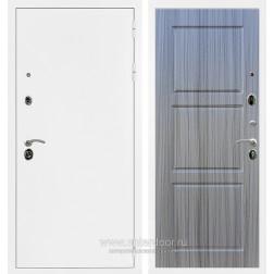Входная металлическая дверь Армада 5А ФЛ-3 (Белая шагрень / Сандал серый)