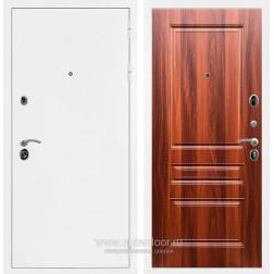 Входная металлическая дверь Армада 5А ФЛ-243 (Белая шагрень / Орех итальянский)