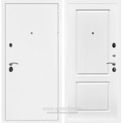 Входная металлическая дверь Армада 5А ФЛ-117 (Белая шагрень / Белый софт)