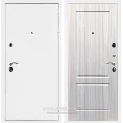 Входная металлическая дверь Армада 5А ФЛ-117 (Белая шагрень / Сандал белый)