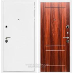 Входная металлическая дверь Армада 5А ФЛ-117 (Белая шагрень / Орех итальянский)