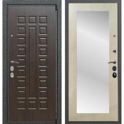 Входная металлическая дверь Армада 4А Mottura с Зеркалом Пастораль (Венге / Дуб белёный)