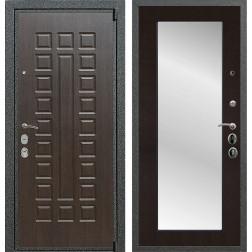 Входная металлическая дверь Армада 4А Mottura с Зеркалом Пастораль (Венге / Венге)