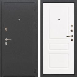 Входная металлическая дверь Лекс Колизей Софт белый снег (панель №94)