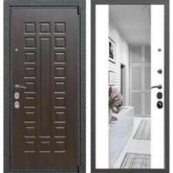 Входная металлическая дверь Армада 4А Mottura с Зеркалом СБ-16 (Венге / Белый матовый)