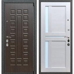 Входная стальная дверь Армада 4А Mottura СБ-18 (Венге / Лиственница беж)
