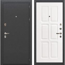 Входная металлическая дверь Лекс Колизей Софт белый снег (панель №85)