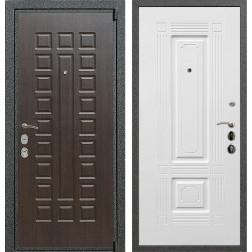 Входная металлическая дверь Армада 4А Mottura ФЛ-2 (Венге / Белый силк сноу)