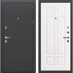 Входная металлическая дверь Лекс Колизей Софт белый снег (панель №89)