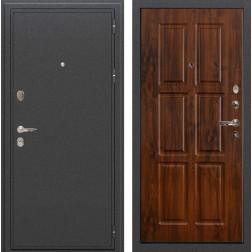 Входная металлическая дверь Лекс Колизей Винорит дуб тёмный (панель №83)