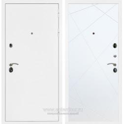 Входная металлическая дверь Армада 5А ФЛ-291 (Белая шагрень / Белый софт)