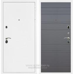 Входная металлическая дверь Армада 5А ФЛ-14 (Белая шагрень / Графит софт)