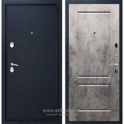 Входная металлическая дверь Армада 3 ФЛ-117 (Черный крокодил / Бетон тёмный)