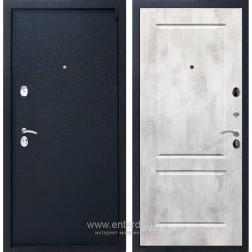 Входная металлическая дверь Армада 3 ФЛ-117 (Черный крокодил / Бетон светлый)