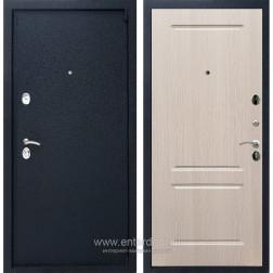 Входная металлическая дверь Армада 3 ФЛ-117 (Черный крокодил / Дуб белёный)