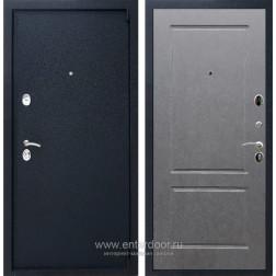 Входная металлическая дверь Армада 3 ФЛ-117 (Черный крокодил / Штукатурка графит)