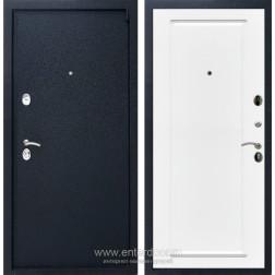 Входная металлическая дверь Армада 3 ФЛ-119 (Черный крокодил / Белый матовый)