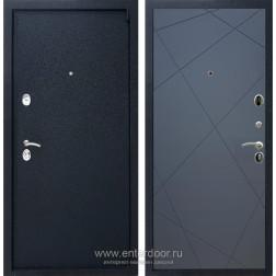 Входная металлическая дверь Армада 3 ФЛ-291 (Черный крокодил / Графит софт)