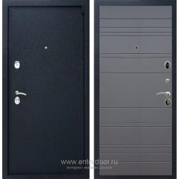 Входная металлическая дверь Армада 3 ФЛ-14 (Черный крокодил / Графит софт)