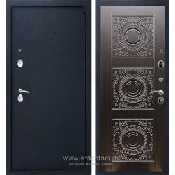 Входная металлическая дверь Армада 3 Д-18 (Черный крокодил / Венге)