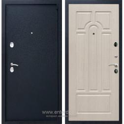 Входная металлическая дверь Армада 3 ФЛ-58 (Черный крокодил / Дуб белёный)