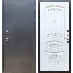 Входная стальная дверь Армада 11 ФЛ-316 (Антик серебро / Белый патина Серебро)