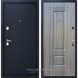 Входная металлическая дверь Армада 3 ФЛ-2 (Черный крокодил / Сандал серый)