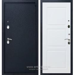 Входная металлическая дверь Армада 3 ФЛ-3 (Черный крокодил / Белый матовый)