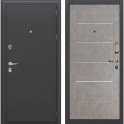 Входная металлическая дверь Лекс Колизей Бетон серый (панель №80)