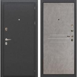 Входная металлическая дверь Лекс Колизей Бетон серый (панель №81)