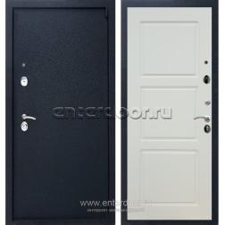 Входная металлическая дверь Армада 3 ФЛ-3 (Черный крокодил / Слоновая кость)