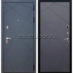 Входная металлическая дверь Армада 13 ФЛ-291 (Графит софт / Графит софт)