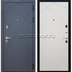 Входная металлическая дверь Армада 13 ФЛ-291 (Графит софт / Шампань софт)