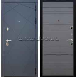Входная металлическая дверь Армада 13 ФЛ-316 (Графит софт / Графит софт)