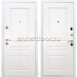 Входная металлическая дверь Армада Премиум Н ФЛ-243 (Белый / Белый)
