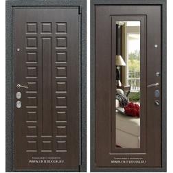 Входная металлическая дверь Армада 4А Mottura с зеркалом (Венге / Венге)