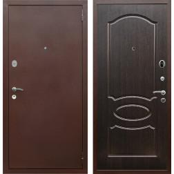 Входная дверь Армада 2 ФЛ-128 (Антик медь / Венге)