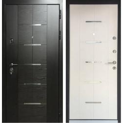 Входная металлическая дверь Персона ТехноЛюкс (Венге / Ясень белый)
