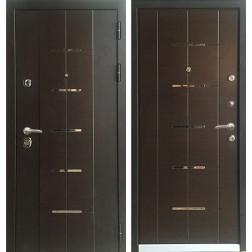 Входная металлическая дверь Персона ТехноЛюкс (Венге)