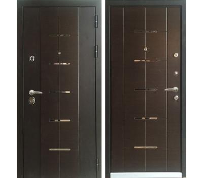 Входная металлическая дверь Персона Технолюкс (Венге / Венге)