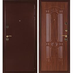 Входная стальная дверь Стандарт 3К (Орех тисненый)