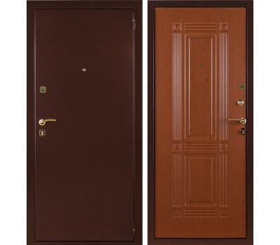 Входная стальная дверь Триумф (Антик медный / Клён красный)