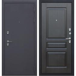 Уличная входная стальная дверь с терморазрывом АСД Термо 3К (Венге)