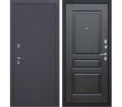 Уличная входная стальная дверь с терморазрывом АСД Термо 3К (Муар коричневый / Венге)