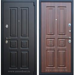 Входная металлическая дверь АСД Атлант (Венге / Орех бренди)