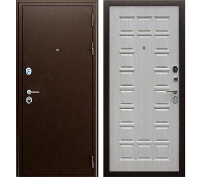 Входная металлическая дверь АСД Спартак (Дуб беленый)