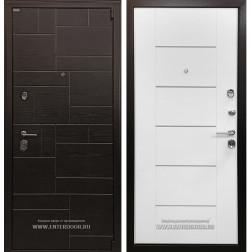Входная металлическая дверь Ратибор Омега 3К (Венге / Ясень белый)