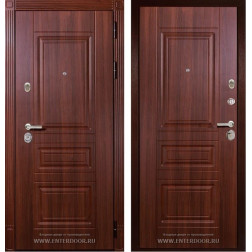 Входная металлическая дверь Дива МД-25 (Орех бренди)