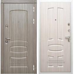 Входная дверь Дива МД-42 (Сандал серый / Сандал белый)